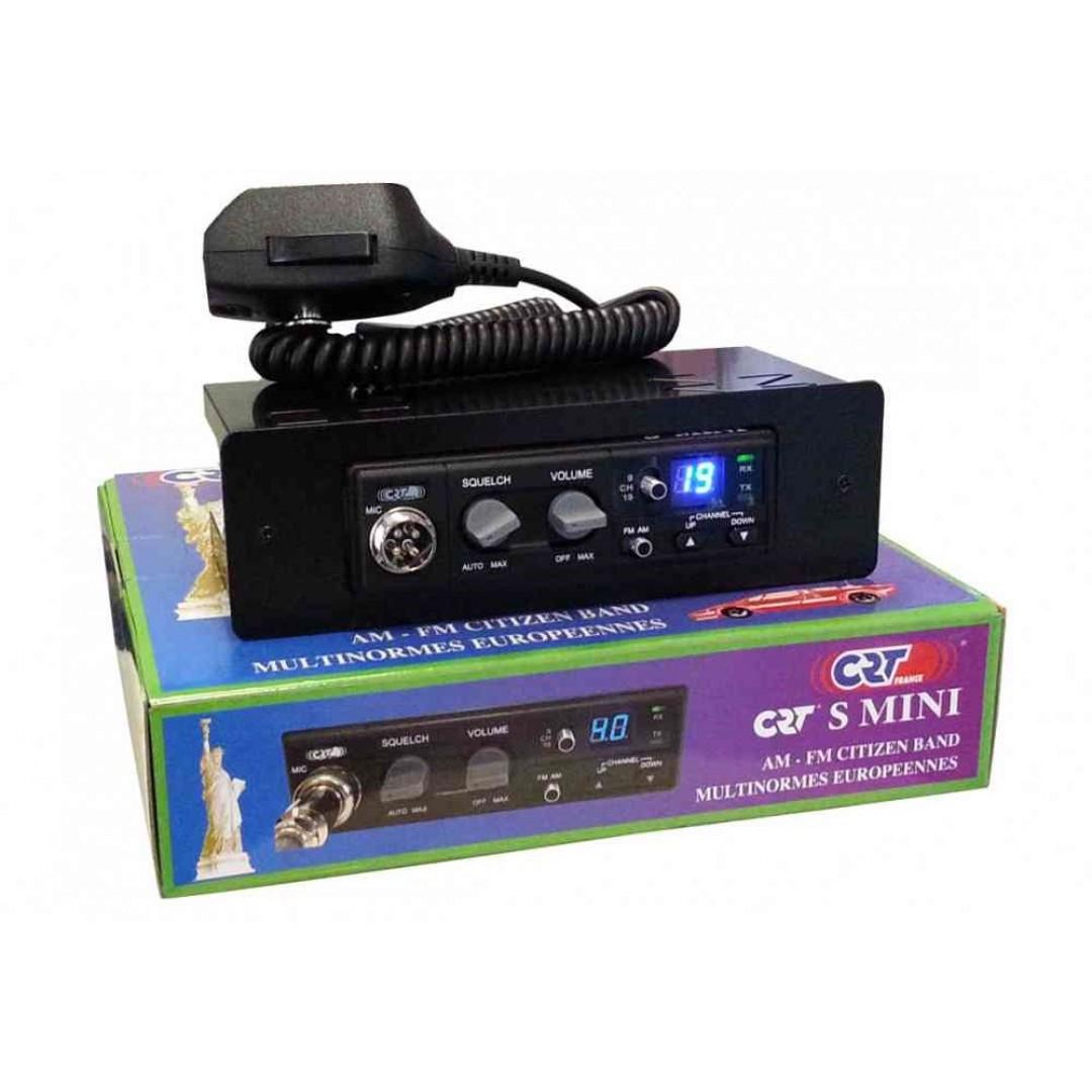 CRT S-Mini + DIN, Radio set + DIN frame